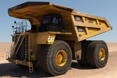 CAT 797 Haul Truck by Evexoian