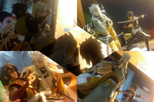 Souji met Kogi today by CARBONATED-STARDUST
