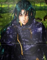 Commission: Fire Emblem Soren by HeartlessLink