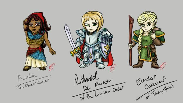 Project Storm: Chibi 4-6 by optimusprimus001