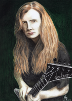 Dave Mustaine by Woodstockowa
