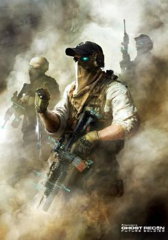 Ghost Recon Future Soldier Official Art #5 by DarkApp
