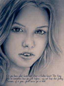 Cassie - Broken heart... by Micatsa