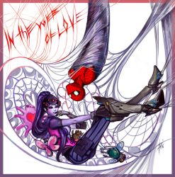 In web of love by Amales