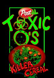 Toxic O's Cereal by quasimetaphysical