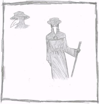 The Plague Doctor by ClayBombCola