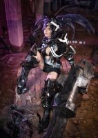 Black Rock Shooter Insane Cosplay by KICKAcosplay