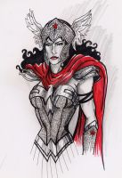 Hippolyte- Queen of Themyscira by JGiampietro