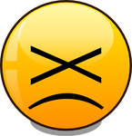 basic smiley angry (svg) by mondspeer