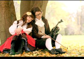 APH: Hungary and Austria 3 by Amapolchen