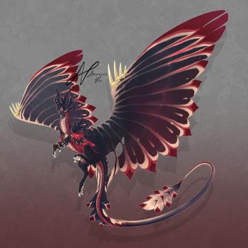 Dragon Design #016 Auction [CLOSED] by AverrisVis