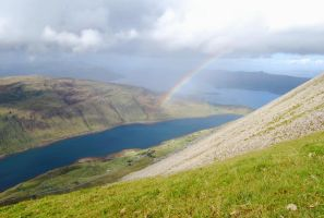 Rainbow over Sconser by CitizenJustin