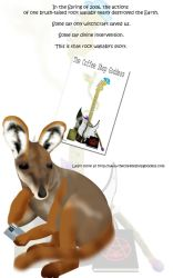 TCSG promo poster 1 Wallaby by toby-damt