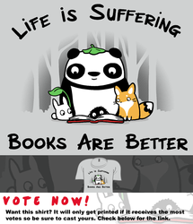 Woot Shirt - Books Are Better by fablefire