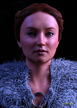 Lady of Winterfell Free Dial up Morphs for G8F by Agr1on