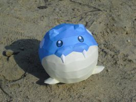 Spheal papercraft by TimBauer92