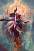 Nima - Kickstarter Fan Art by PeteMohrbacher