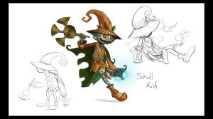 Skull Kid by Art-Zealot