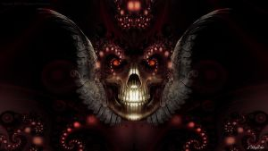 Angelic Skull v2 by KnightFlyte96