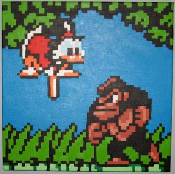 Scrooge Pogos The Ape by Squarepainter