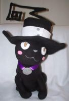 Blair-chan Kitty Plushie by Shattered-Rayn