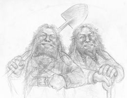 Fili And Kili by TurnerMohan