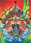 Thor: Ragnarok poster (THANK YOU FOR 408 WATCHERS) by MayTheForceBeWithYou