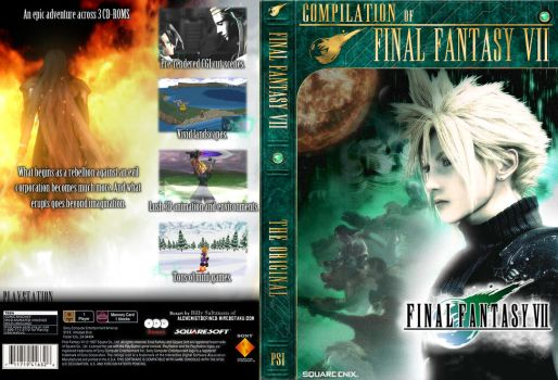 FF7 series Covers by Billysan291