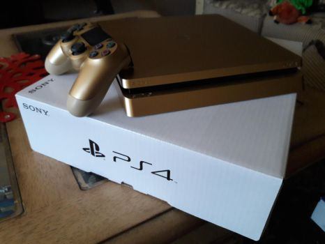 The PS4 Gold Edition by Chrismilesprower