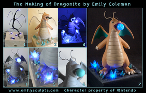 The Making of Dragonite by emilySculpts