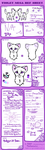 Violet Ref Sheet by ThatCreativeCat