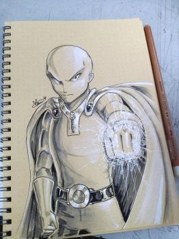 Sketch 1 - One Punch by Marini4