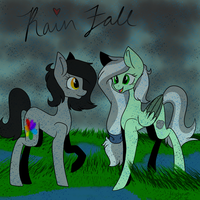 Rain Fall by MischievousArtist