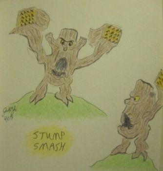 Stump Smash by JasonYoungdale