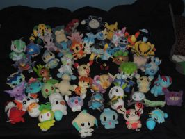Pokemon Plush Collection - 2015 by HannahDoma