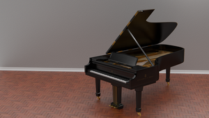 Steinway Grand Piano by Bahr3DCG