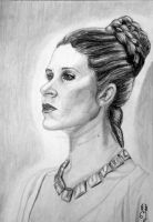 Princess Leia Organa by Mercantille
