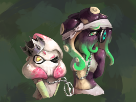 off the hook but it's furry by Wolframclaws