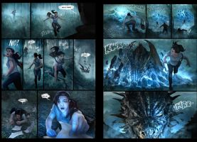 Terra Daunting pages 3 and 4 by chrisscalf