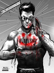 The one and only Johnny Cage! by flavioluccisano