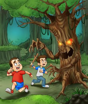 Tree Monster An 2 Brother by bangkit70