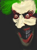 iPad -  The Joker by JimOfRapture