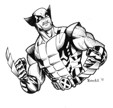 Wolverine by Bambs79