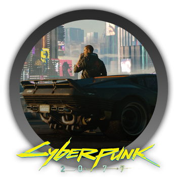 Cyberpunk 2077 - Icon by Blagoicons