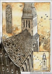 Cathedral by Komar4