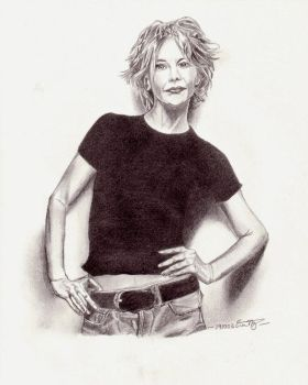 Meg Ryan by snowslazzin
