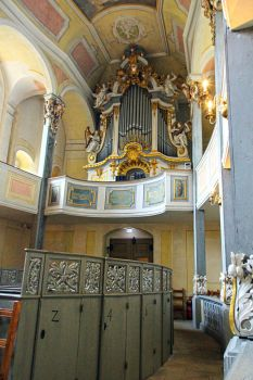The Chapell's Organ by fantom125