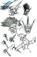 Troll Axethrowers by PhillGonzo