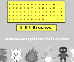 8 BIT Brushes -NES- by alexjames01