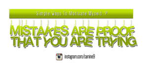Typography Noobs Motivated 2016 by carnine9